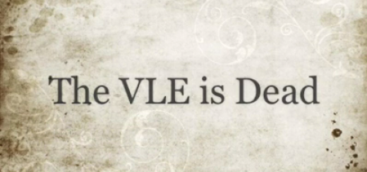 The VLE is dead