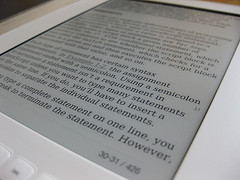 Ebook reader image (c) Andrew Mason licensed under Creative Commons