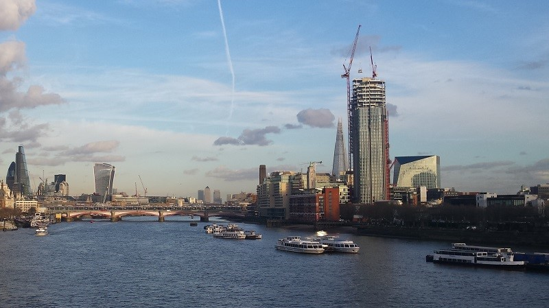 London - view of the Thames
