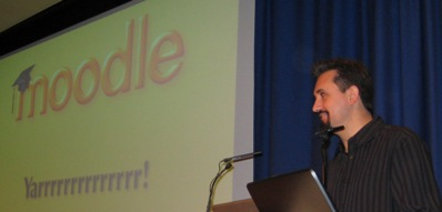 Martin Dougiamas at the 2007 UK Moodlemoot