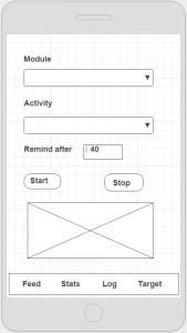 Student App screenshot