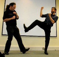 Tony Hirst v Niall Sclater CETIS Conference 2007